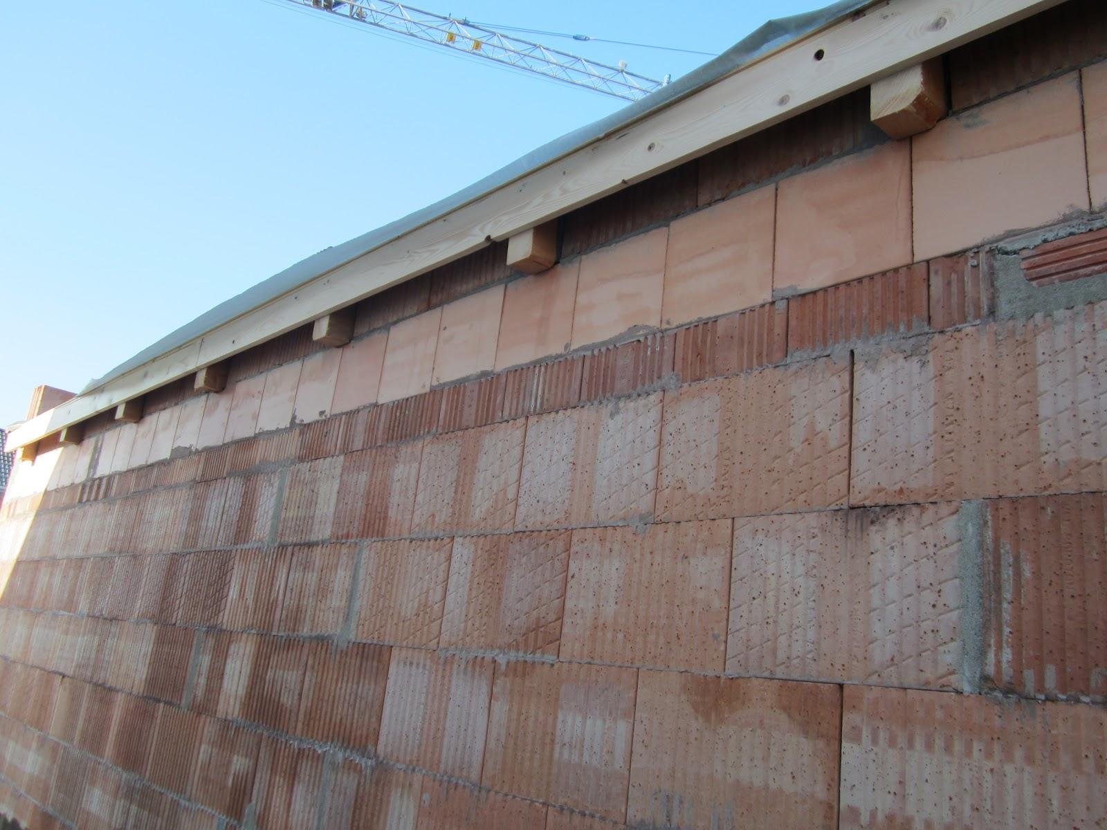 unser hausbau garage in eigenleistung streichen des dach berstands der dachblende. Black Bedroom Furniture Sets. Home Design Ideas