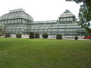 """Largest """"PALM HOUSE"""" in Europe in Schoenbrunn Palace grounds."""
