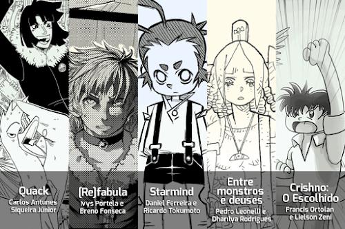 Brazil Manga Awards: sua chance de ter seu mangá publicado