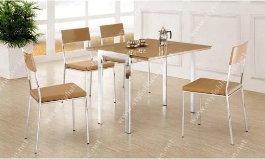 Extendible stylish kitchen dining set