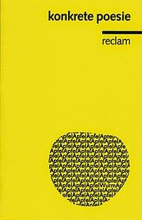 Poesía concreta en lengua alemana