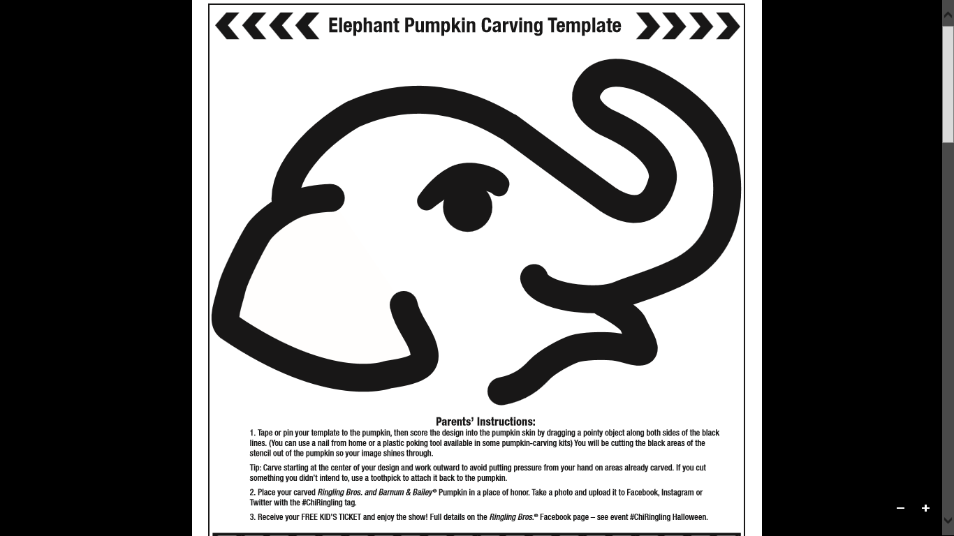 More 4 mom 2013 10 27 for How to carve an elephant on a pumpkin