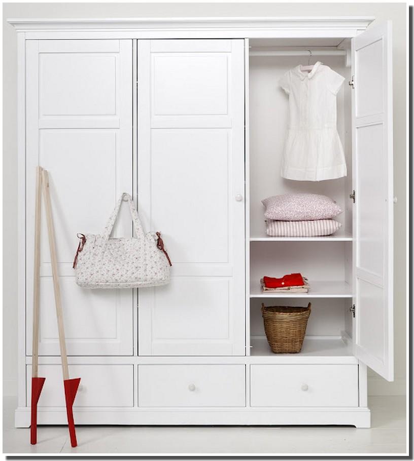 nassima home armoire blanche moderne. Black Bedroom Furniture Sets. Home Design Ideas