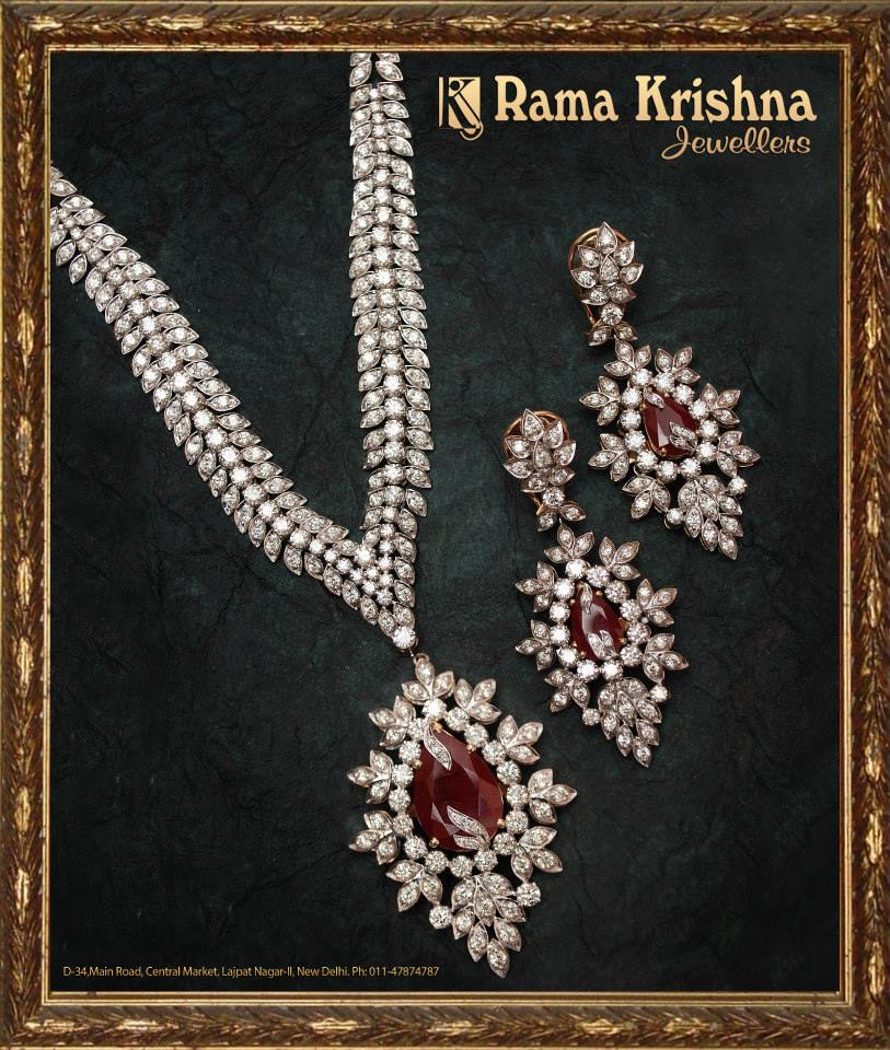 Indian Jewellery And Clothing: Indian Jewellery And Clothing: Heavy Bridal Diamond