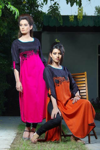 Damak Fashion Winter Collection 2015 for Girls