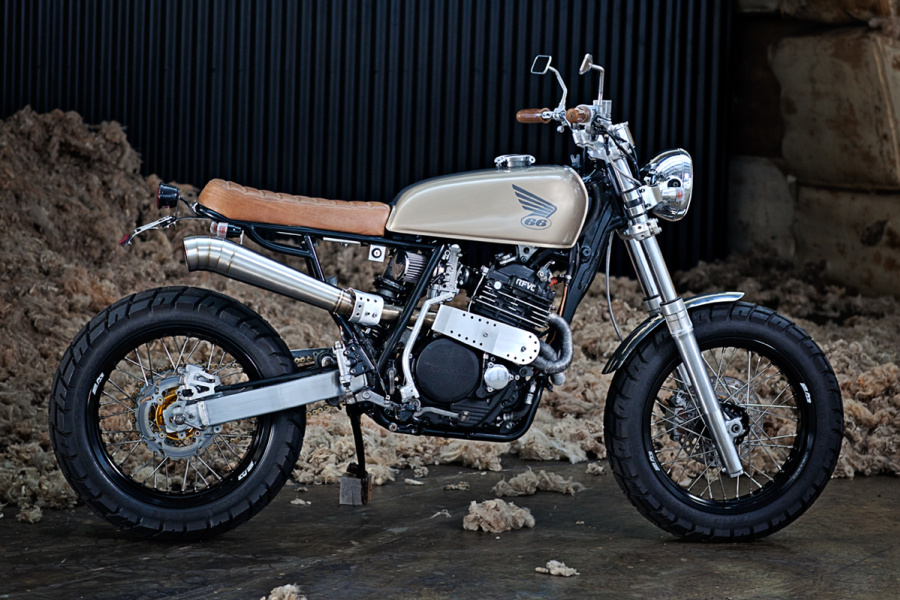 Xr600 By 66 Motorcycles Inazuma Caf 233 Racer
