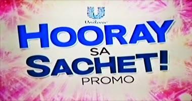 Unilever and ABS-CBN: Hooray sa Sachet Promo Mechanics, Hooray sa Sachet Promo, Philippines promo