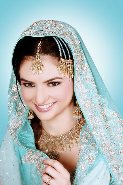 Latest indian Wedding Dresses Jewelry and Makeup