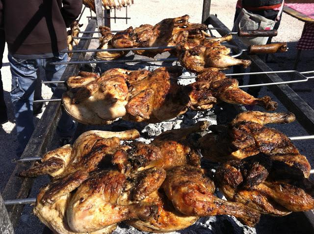 BBQ asado chicken