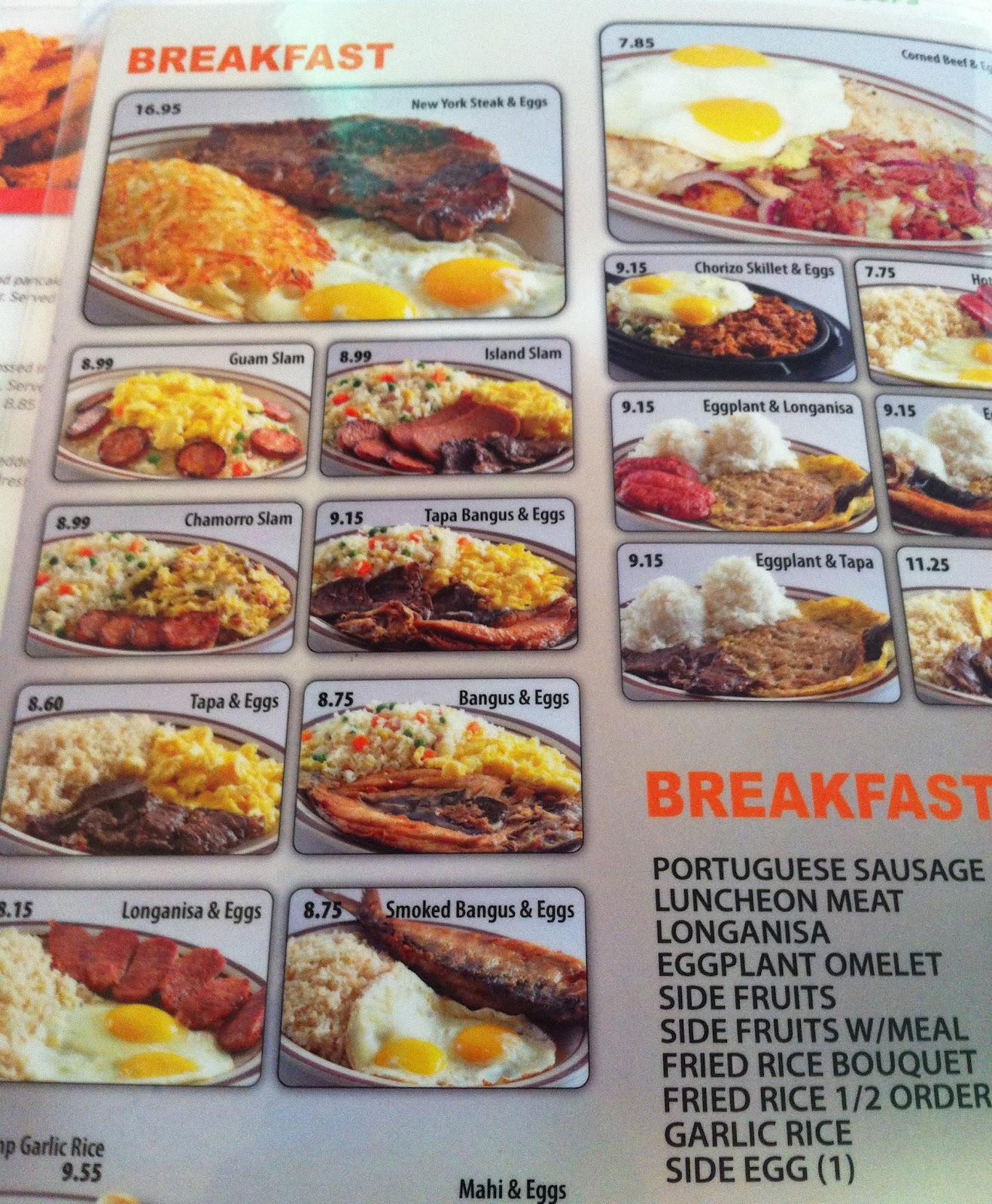 Taste Of Hawaii Denny S Restaurant Guam