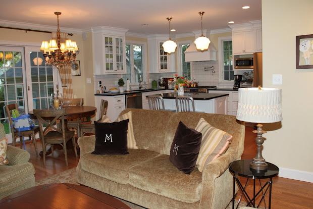 Open Floor Plan Kitchen Living Room Design