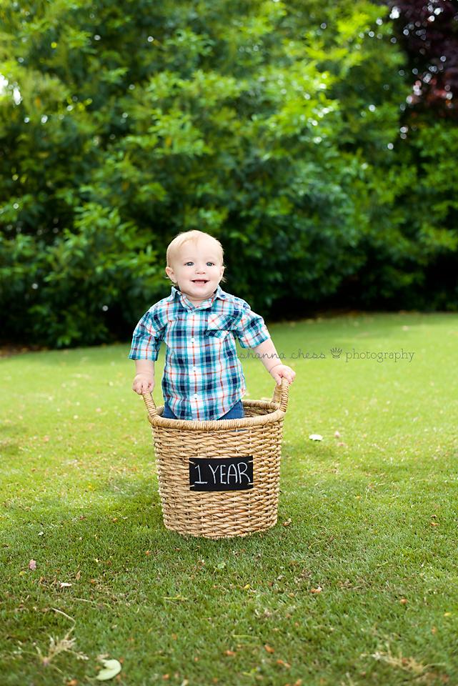 eugene or baby photography basket