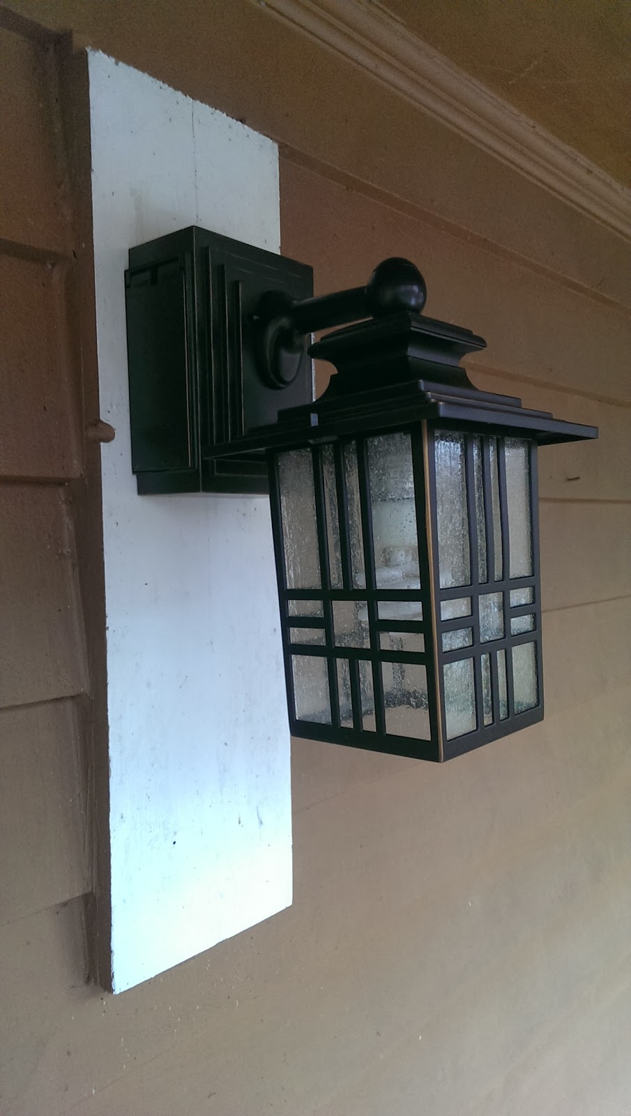 Call of DuVy: Project: Exterior light with built-in electrical outlet