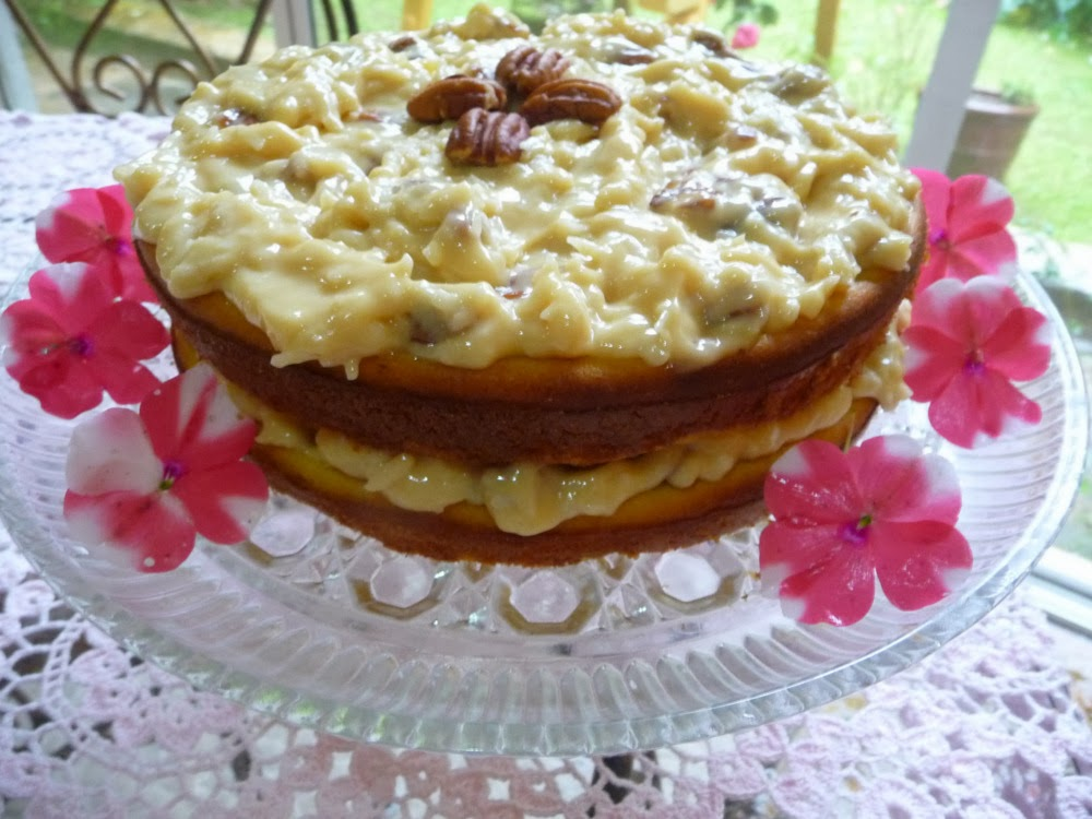 ... JENNIFER ELOFF: COCONUT PECAN FROSTING AND OTHER FROSTINGS FOR CAKES