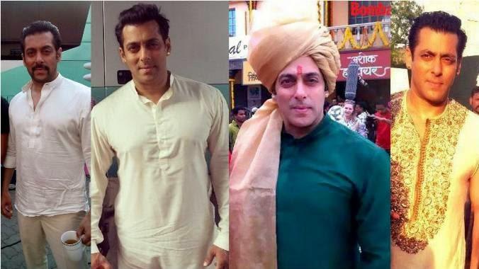 Salman Khan as Prem & Vijay in Prem Ratan Dhan Payo