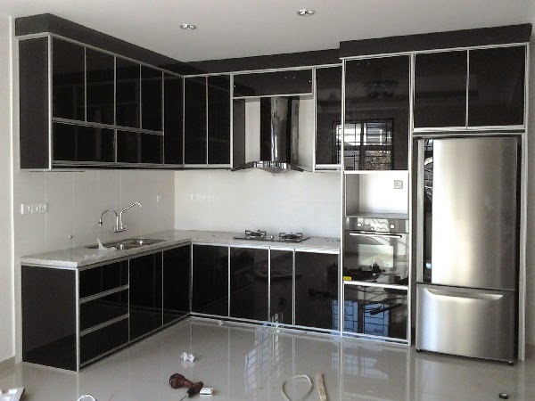 Ni built-in kitchen cabinet yang saya gugel.Ada banyak sangat contoh ...