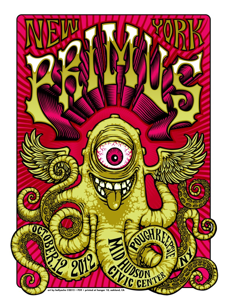 Inside The Rock Poster Frame Blog Tonight S Primus Poster