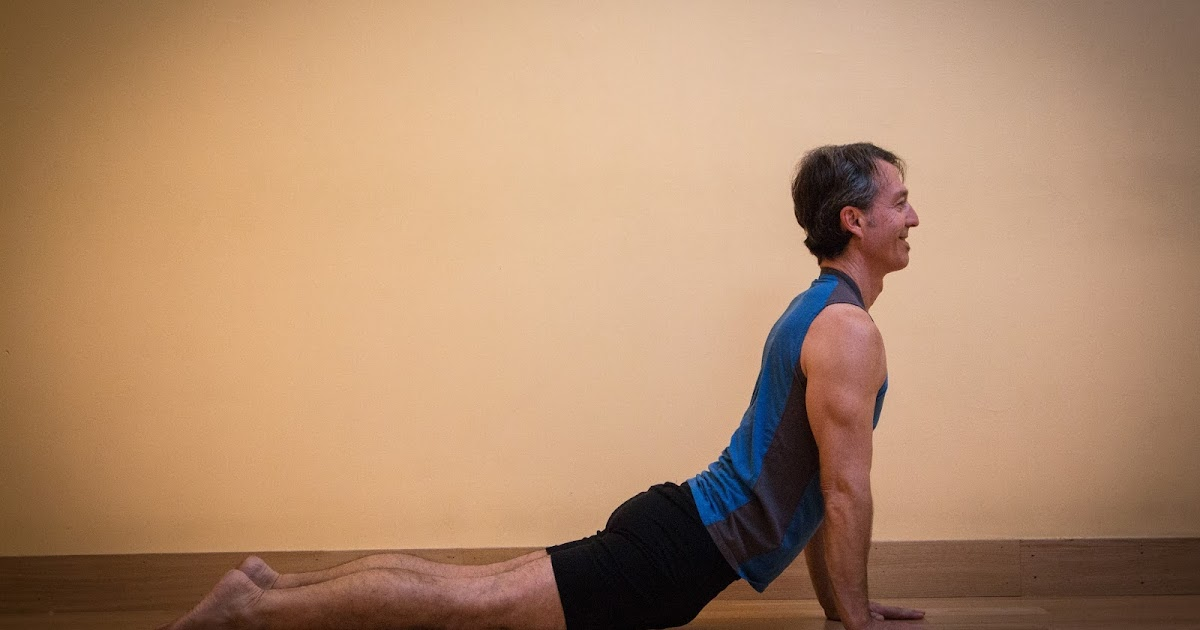 yoga for healthy aging featured pose cobra pose