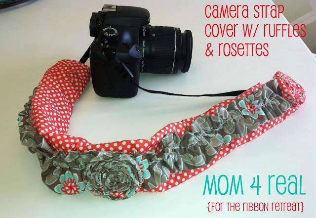 Embellished Camera Strap
