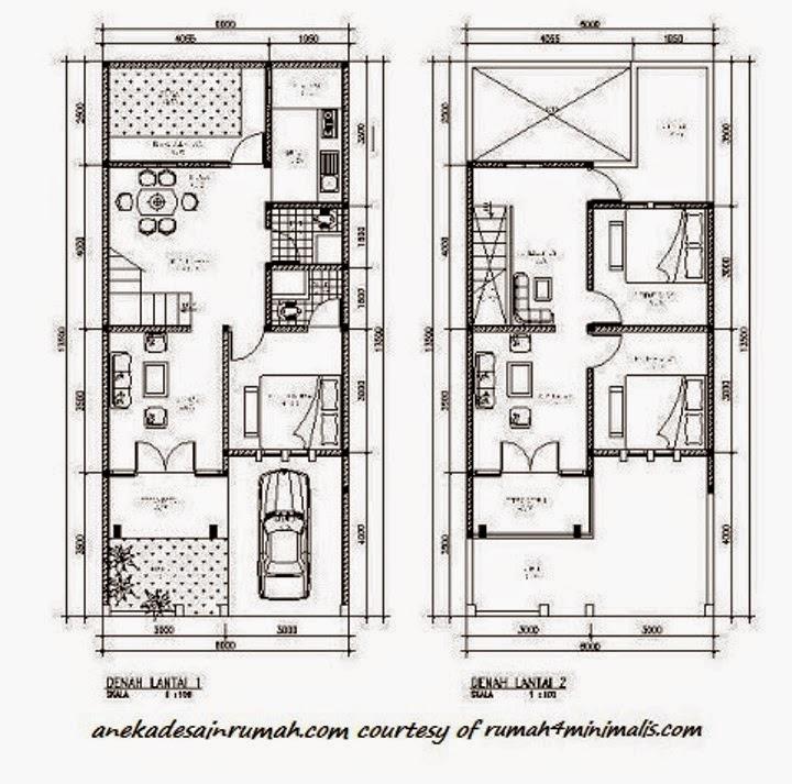 Desain Rumah Minimalis 2 Lantai Lengkap