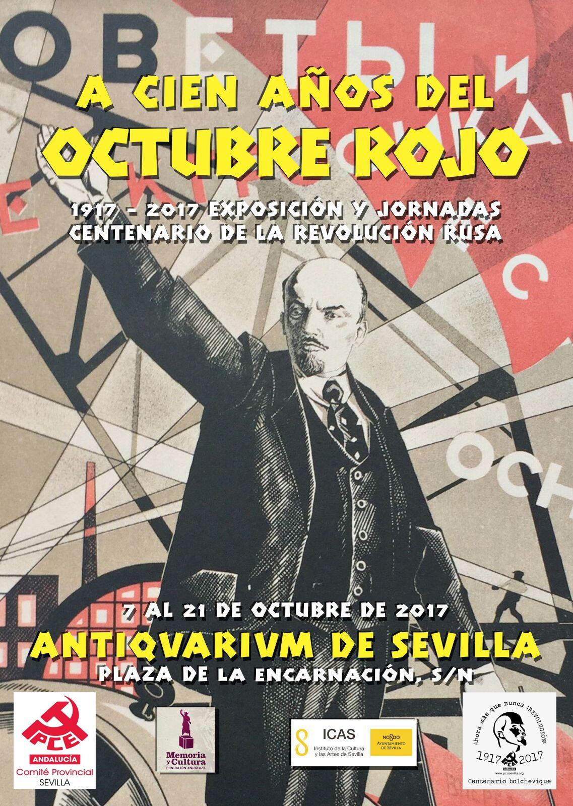 Exposición y jornadas Revolución de Octubre