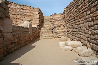 ruins Harappan ancient city