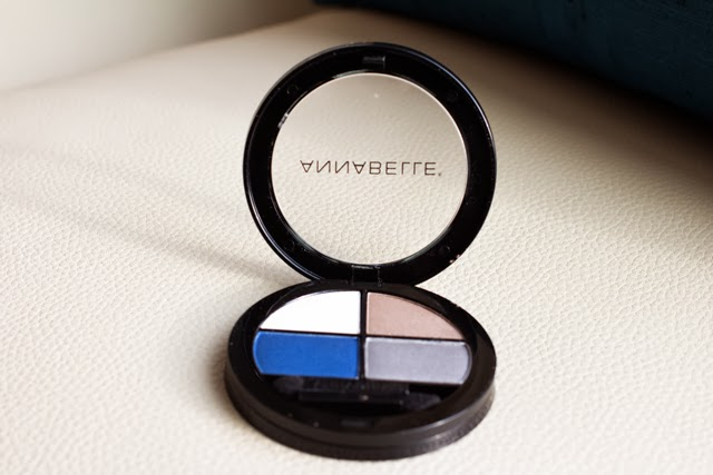 annabelle cosmetics eyeshadow quad in haute mer