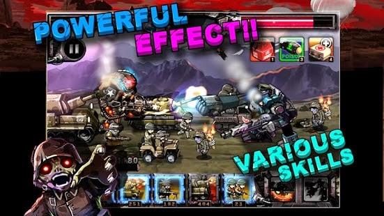 Army VS Zombie  یاری بۆ ئهندرۆید