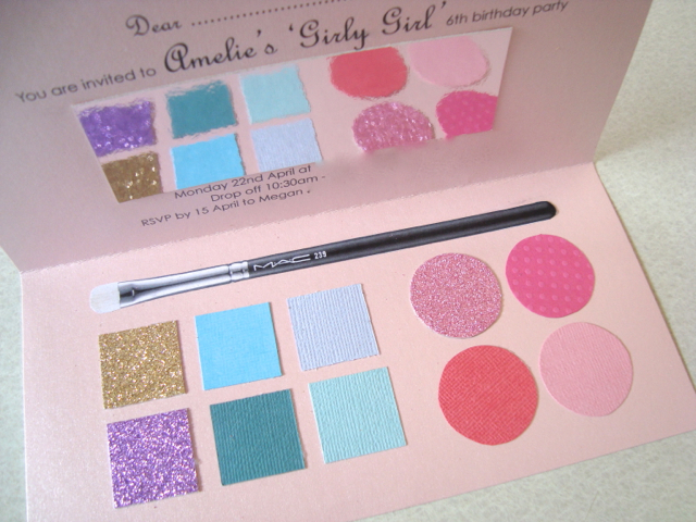 Pamper Party Invitation as nice invitation design