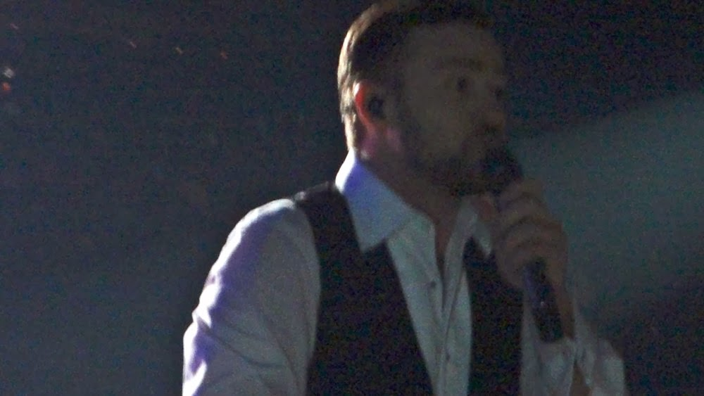 Justin Timberlake singing Summer Love in Vancouver