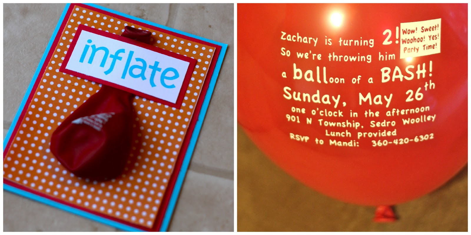 Awesome Balloon Party Invitations Collection - Resume Ideas ...