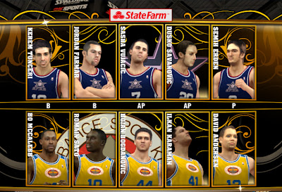 NBA 2K13 Euroleague Teams Mod Patch