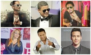 Artistas del Festival Presidente 2014