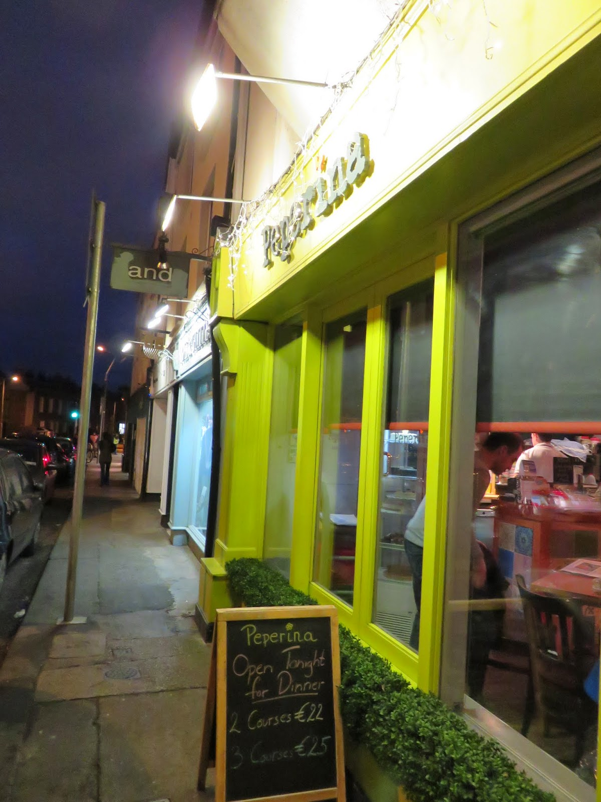 Peperina Garden Bistro in Dublin