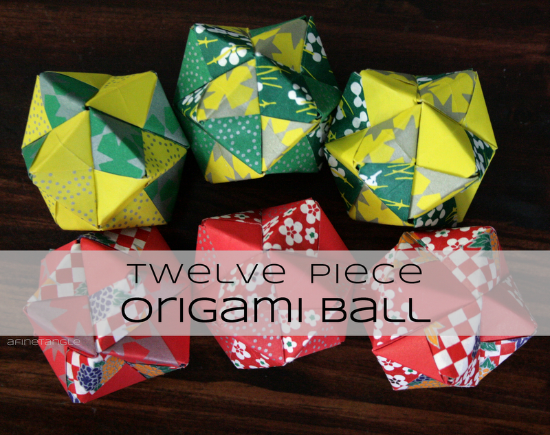 I Have Been Making These Origami Balls Ever Since My Elementary Art Teacher Taught Me In 4th Grade Thats Right