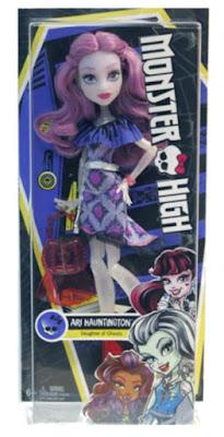 TOYS : JUGUETES - MONSTER HIGH  Ari Hauntington | Muñeca - Doll  Nuevas Mattel 2016 | A partir de 6 años  Comprar en Amazon España & buy Amazon USA
