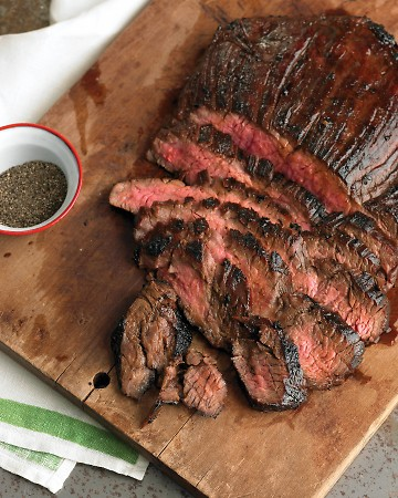 My Kitchen By The Lake: On The Grill...Soy Marinated Flank Steak