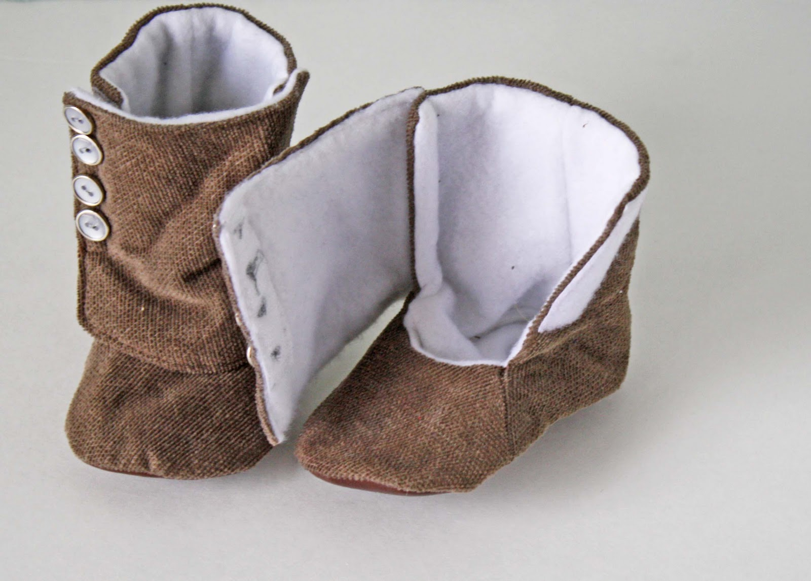 Baby Cowboy Booties Cloth Pattern