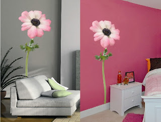 Flower Wall Murals For Teenage Bedroom