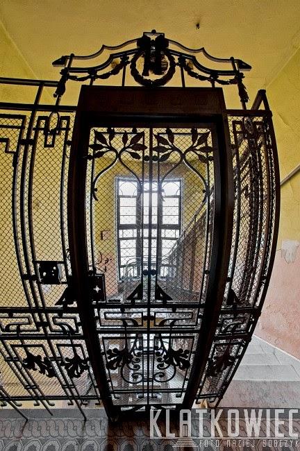 Łódź: dawna winda