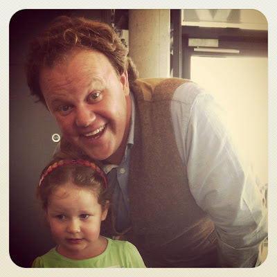 MC and Justin Fletcher