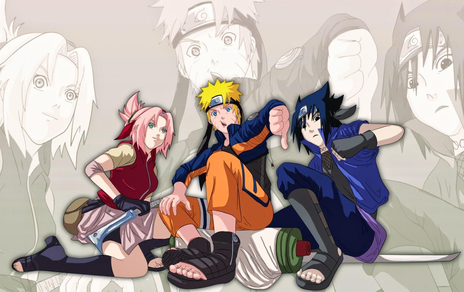 Gambar Naruto VS Sasuke - Kumpulan Gambar Terbaru