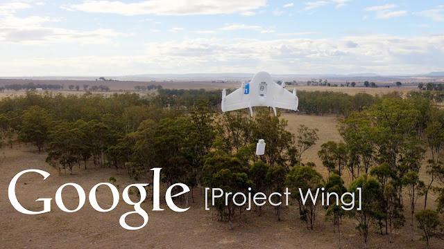Google vai fazer entregas por drones em 2017