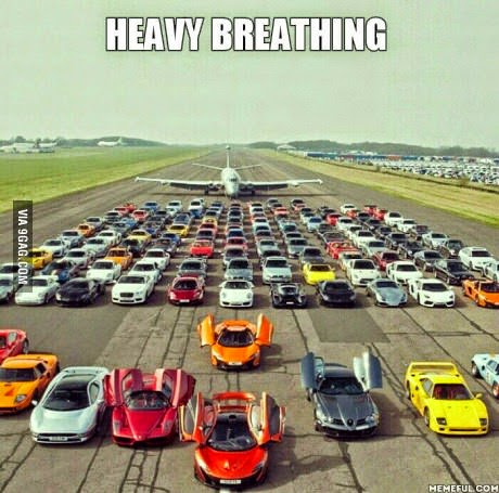 Heavy Breathing for Car Lovers
