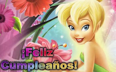 campanita deseando feliz cumpleaños