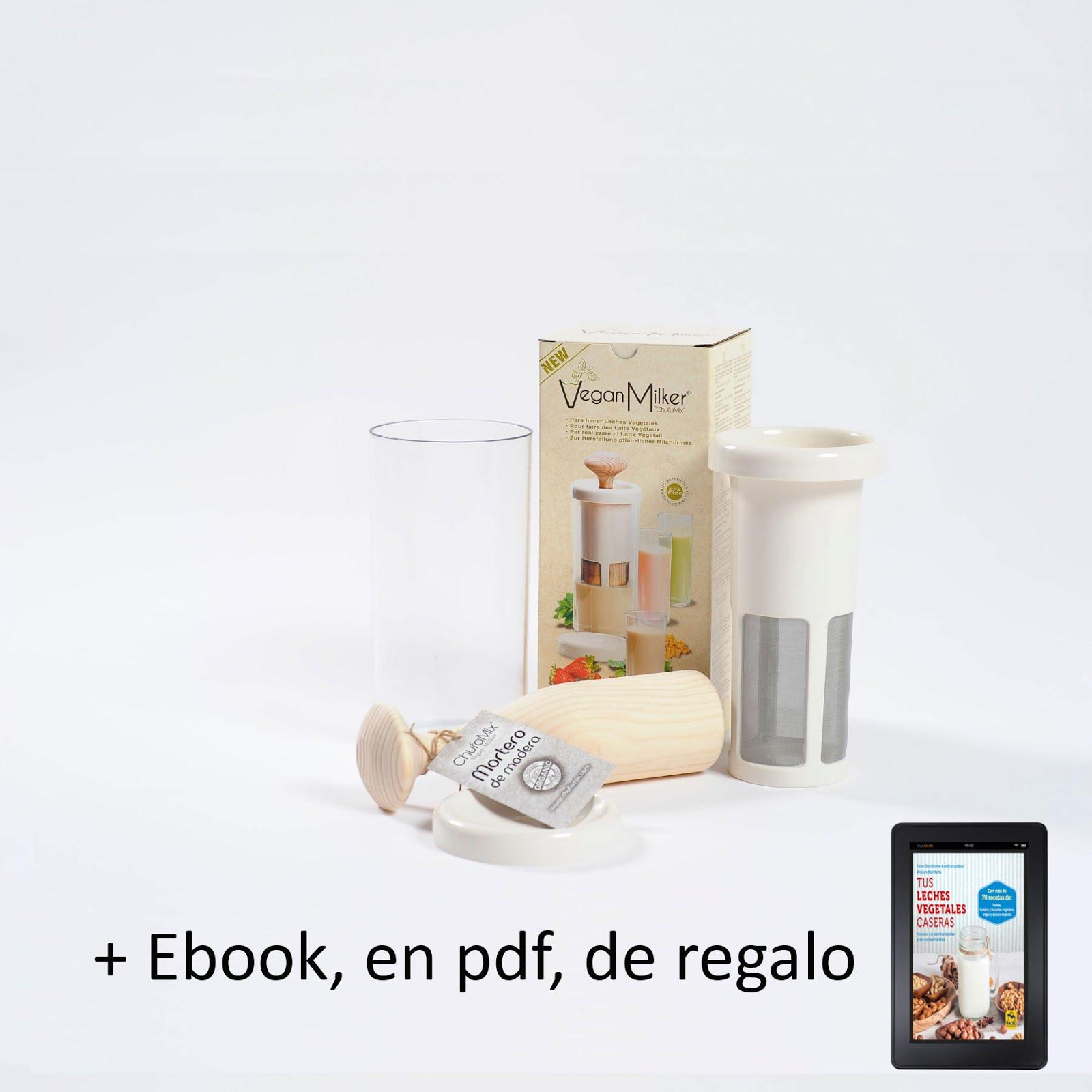 PREPARA TUS BEBIDAS VEGETALES CASERAS CON CHUFAMIX