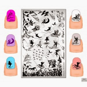 Lacquer Lockdown - Marianne Nails Nail Art Stamping Plates, Marianne nail art plates, marinane stamping plates, nail art, nail art stamping blog, new nail art stamping plates 2014, new nail art image plates 2014, new nail art plates 2014, stamping, new nail plates 2014, diy nail art, cute nail art ideas, new nail art ideas, fairy nail art, fairy nails,