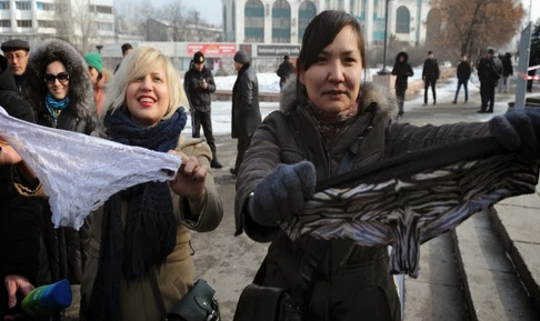 Revolution in Russia after the decision to ban the sale of women's underwear