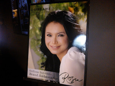 ROSSA BRAND AMBASSADOR ORIFLAME 2013