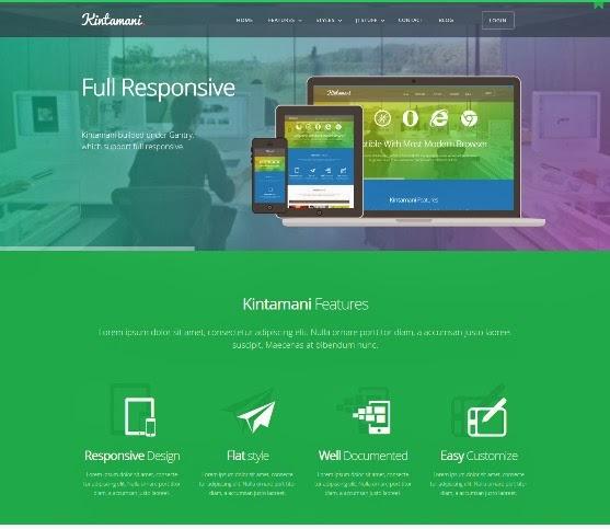 Kintamani Responsive Multi-Purpose Joomla Theme